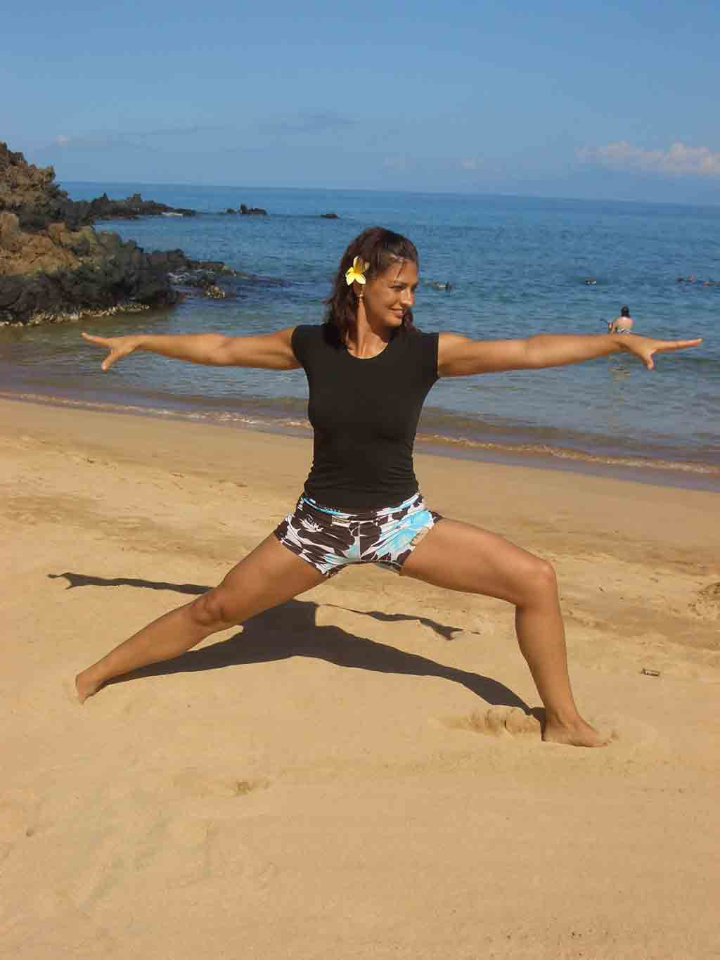 Beach Yoga Images Beach Yoga Classes on Maui